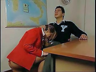 Blowjob Clothed European Italian  Teacher