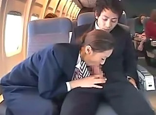 Asian Blowjob Clothed  Public Uniform