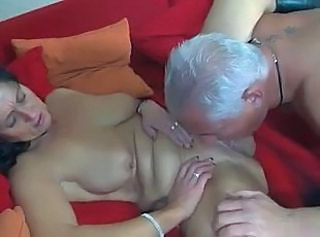 European German Licking Mature Older  Wife