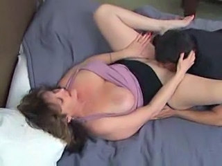 Chubby Clothed Licking Mature Mom