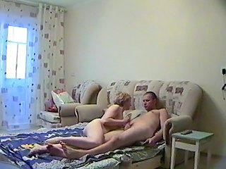 Handjob Homemade Mom Old and Young