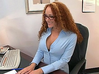 Amazing Glasses  Office Redhead