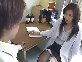 Asian Cute Doctor  Stockings
