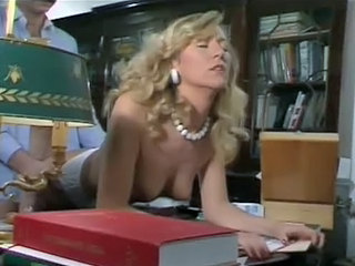 Blonde Doggystyle  Office Pornstar