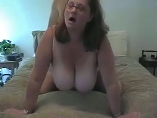 Glasses Hardcore Mature Mom  Wife
