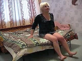 Blonde Mature Russian