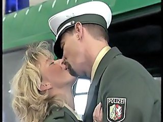 Blonde Kissing  Uniform