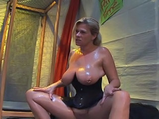 Big Tits Corset European German  Natural Piercing