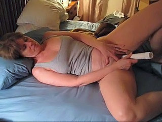 Amateur Homemade Masturbating  Toy