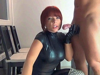 Amateur Blowjob  Latex