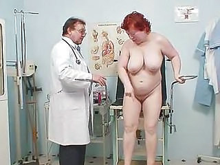Big Tits Doctor Mature Natural Older Redhead