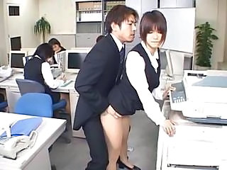 Asian Clothed Japanese  Office Public Secretary