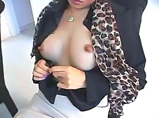 Asian  Nipples Office Secretary