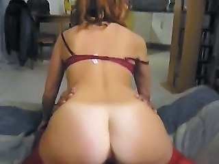 Amateur Ass Cuckold Interracial  Riding