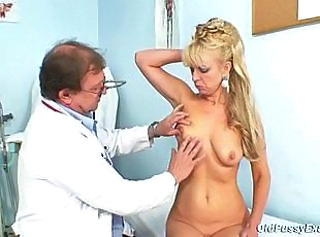 Doctor Mature Older Old and Young