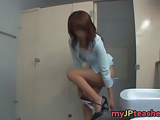 Asian Japanese  Teacher Toilet