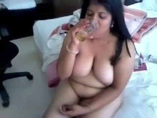 Big Tits Drunk Indian Mature