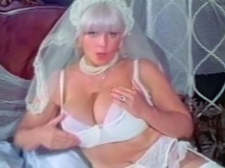 Blonde Bride Lingerie