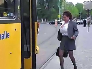Amateur Bus  Public