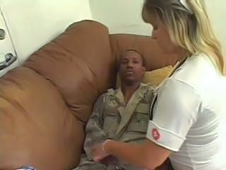 Interracial  Nurse Uniform