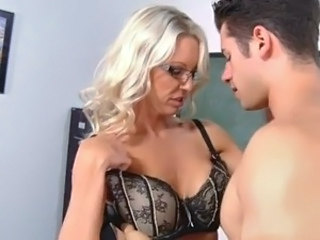 Glasses Lingerie  Old and Young Teacher