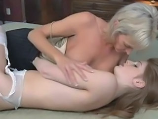 Daughter Lesbian Mature Mom Old and Young Teen