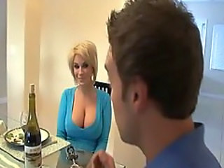 Amazing Big Tits Blonde  Wife