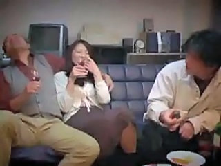 Asian Drunk Japanese  Mom