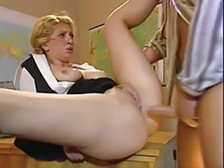 Anal Blonde  Teacher