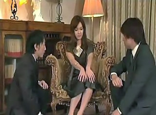 Asian Cash Japanese  Threesome