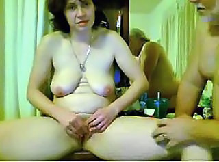 Masturbating Mature Older  Webcam Wife