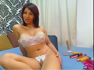 Amazing Big Tits Latina Lingerie  Webcam