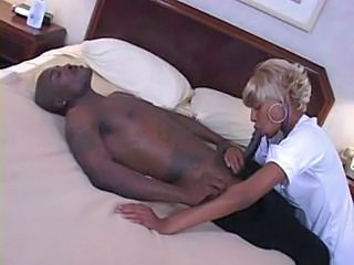 Blowjob Ebony  Nurse Uniform