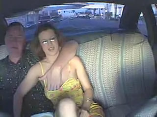 Car Glasses Handjob HiddenCam Mature