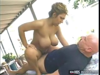 Big Tits Hardcore  Natural Outdoor Riding