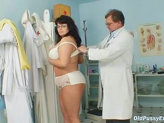 Chubby Doctor Glasses Lingerie Mature Older