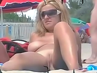 Beach Glasses  Shaved Voyeur