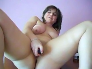 Chubby Dildo Masturbating   Solo Toy Webcam
