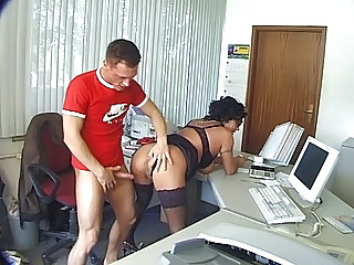 Ass Mature Office Old and Young Secretary Stockings
