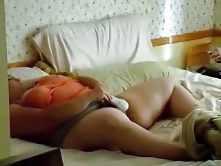 Amateur  Homemade Masturbating Mature Mom Toy