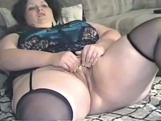 Amateur   Pussy Stockings Wife