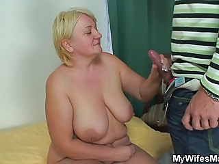 Big Tits Handjob Mature Natural