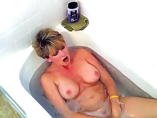 Bathroom Masturbating Mature Orgasm