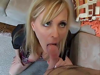 Blonde Blowjob  Pov