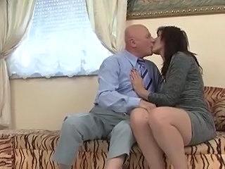 Kissing Mature Older