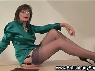 Amazing British European Glasses Legs  Stockings