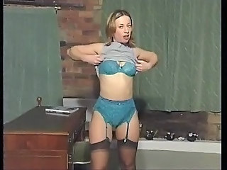 British European Lingerie  Solo Stockings Stripper