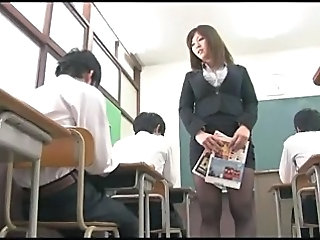 Asian Japanese  School Teacher