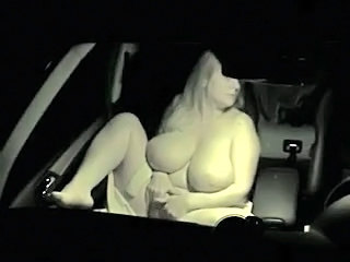 Amateur  Big Tits Car Natural  Wife