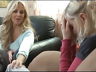 Blonde Daughter Lesbian  Mom